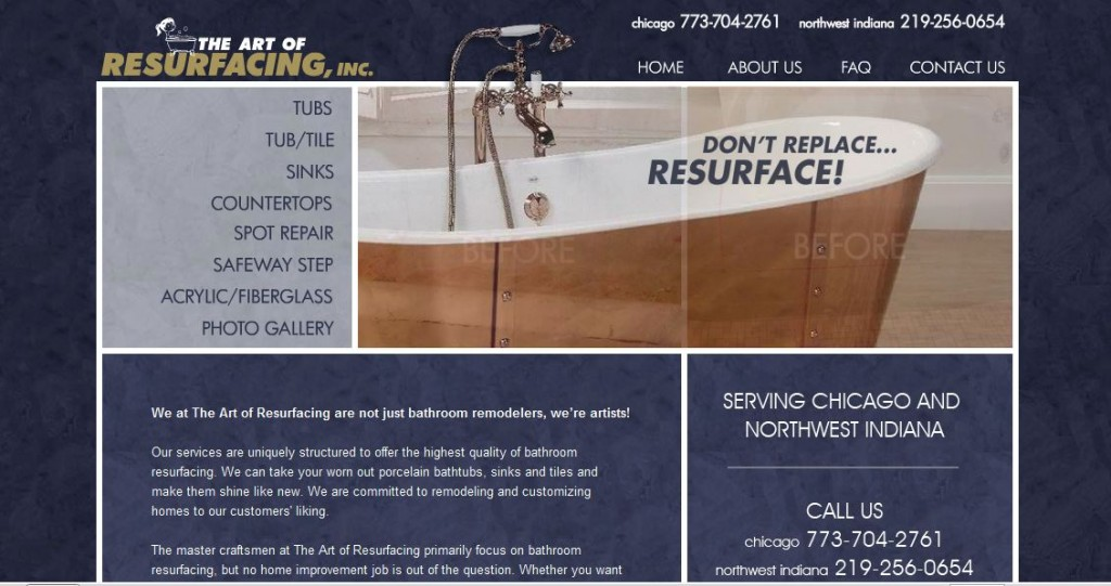Tub Resurfacing Reglazing