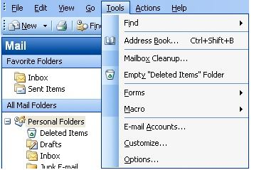 outlook-email-setup-for-2003-tools