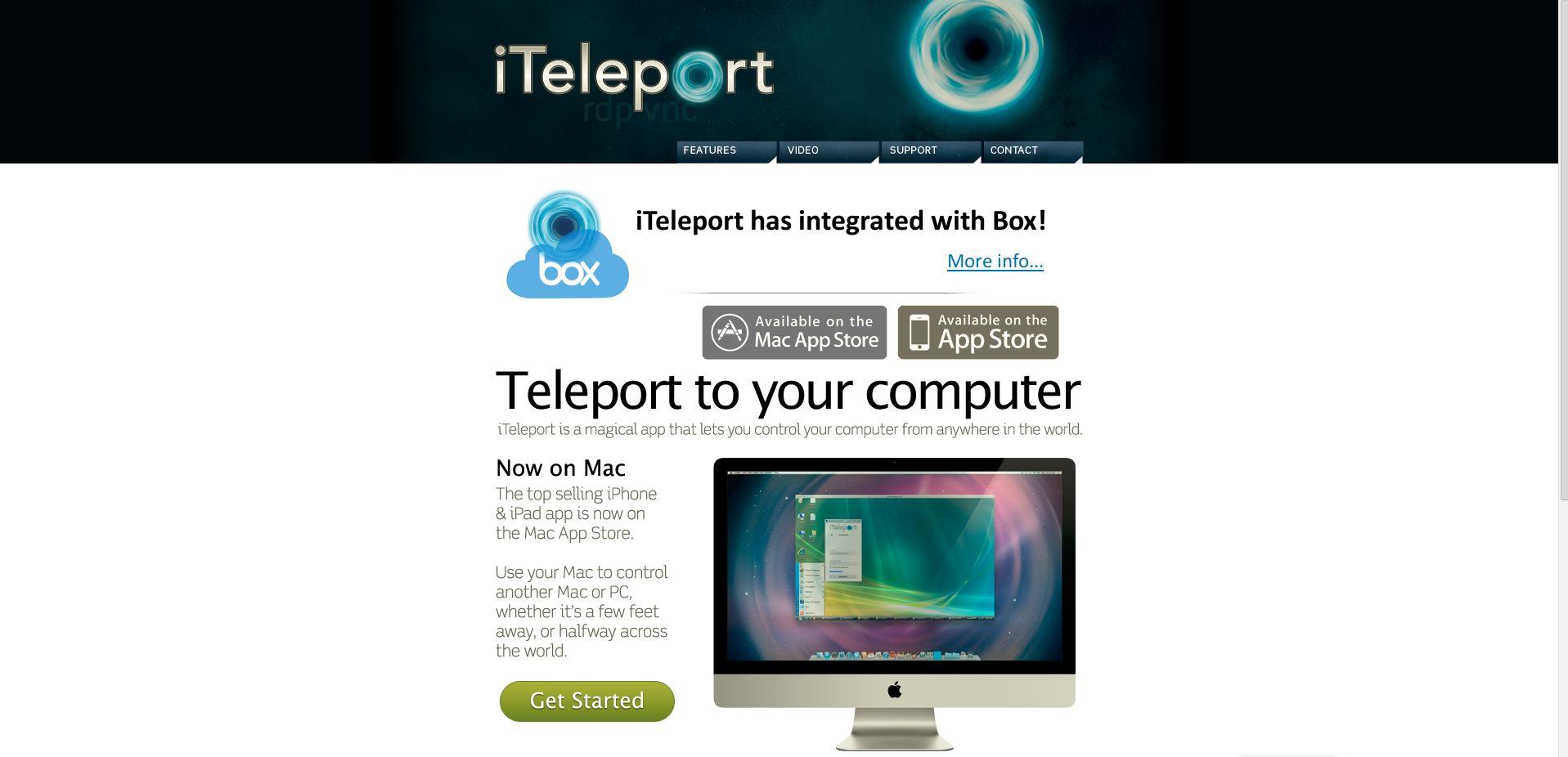 Iteleport Support