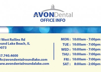 Avon Dental Business Card 1